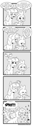 Size: 1016x3733 | Tagged: alicorn, artist:raph13th, black and white, blushing, celestial advice, comic, comic:glim glam and pals, dragon, grayscale, hornboner, implied starburst, innuendo, laughing, monochrome, pony, realization, safe, spike, spread wings, twilight sparkle, twilight sparkle (alicorn), wingboner, wings