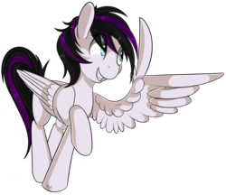 Size: 2046x1764 | Tagged: safe, artist:beardie, oc, oc only, pegasus, pony, feather guns, female, finger gun, finger guns, simple background, solo, transparent background, wing hands