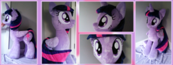 Size: 7000x2662 | Tagged: safe, artist:joltage, alicorn, pony, absurd resolution, irl, life size, photo, plushie