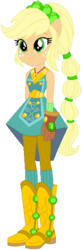 Size: 185x563 | Tagged: safe, artist:ra1nb0wk1tty, applejack, equestria girls, legend of everfree, boots, clothes, crystal guardian, female, freckles, gloves, high heel boots, ponied up, ponytail, simple background, solo, super ponied up, white background