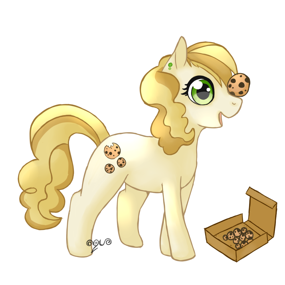 1417250 Artist Xaquamelody Balancing Cookie Food Ponies