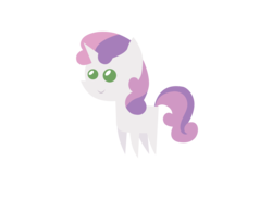Size: 3182x2327 | Tagged: safe, artist:aborrozakale, sweetie belle, pony, high res, pointy ponies, simple background, solo, transparent background