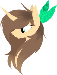Size: 1280x1694 | Tagged: safe, artist:stormer, oc, oc only, pony, unicorn, bust, curved horn, portrait, simple background, solo, transparent background