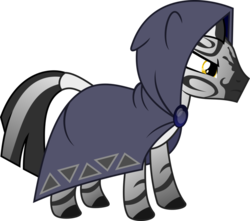Size: 800x708 | Tagged: safe, artist:littlestarwanderer, oc, oc only, oc:pythia, zebra, fallout equestria, fallout equestria: homelands, fallout equestria: project horizons, female, simple background, solo, transparent background, vector