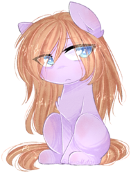 Size: 673x892 | Tagged: artist:shiromidorii, oc, oc only, pony, safe, simple background, solo, transparent background