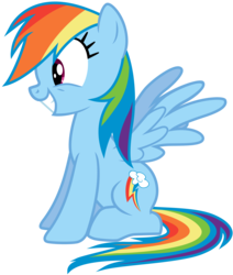 Size: 3675x4342 | Tagged: safe, artist:discorded, rainbow dash, pinkie pride, .ai available, absurd resolution, female, show accurate, simple background, sitting, solo, transparent background, vector