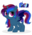 Size: 877x969 | Tagged: safe, artist:unoriginai, nightmare moon, rainbow dash, oc, unnamed oc, alicorn, bat pony, bat pony alicorn, pony, adoptable, alicorn oc, alternate timeline, fangs, hybrid wings, magical lesbian spawn, night guard dash, nightmare takeover timeline, offspring, parent:nightmare moon, parent:rainbow dash, parents:nightmaredash, screencap reference, shipping, simple background, transparent background