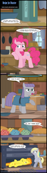 Size: 800x2943 | Tagged: apple, armpit wing, artist:toxic-mario, book, bread, comic, comic:toxic-mario's derpfire shipwreck, cookbook, derpy hooves, female, food, mare, maud pie, muffin, oven, pegasus, pie, pinkie pie, pony, rock solid friendship, safe, speech bubble, spitfire, spitfire's hair is fire, spoiler:s07e04