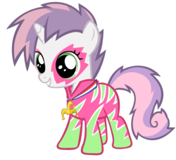 Size: 4407x4000 | Tagged: safe, artist:shelmo69, sweetie belle, pony, the show stoppers, absurd resolution, cute, diasweetes, show stopper outfits, simple background, solo, transparent background, vector