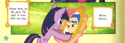 Size: 868x300   Tagged: source needed, safe, edit, flash sentry, twilight sparkle, equestria girls, brad, female, flashlight, human flash sentry x pony twilight, interspecies, male, shipping, straight