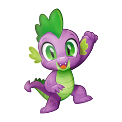 Size: 1024x1024 | Tagged: safe, spike, dragon, my little pony: the movie, baby, baby dragon, claws, cropped, cute, eyebrows, fangs, green eyes, male, official, render, scales, simple background, smiling, solo, spikabetes, transparent background