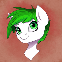 Size: 1000x1000 | Tagged: safe, artist:joan-grace, oc, oc only, earth pony, pony, bust, female, mare, portrait, solo