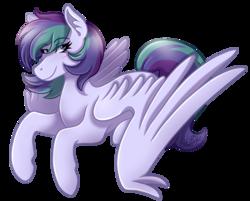 Size: 2107x1696   Tagged: safe, artist:kikirdcz, oc, oc only, oc:violet blaze, pegasus, pony, female, hoers, mare, simple background, solo, transparent background