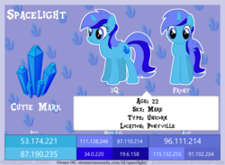 Size: 8000x5862 | Tagged: absurd res, artist:justisanimation, female, mare, oc, oc only, oc:spacelight, pony, reference sheet, safe, solo, unicorn