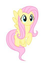 Size: 2048x2732 | Tagged: artist:birde-3, fluttershy, flying, pony, safe, simple background, solo, transparent background, vector