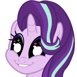 Size: 5023x5023 | Tagged: safe, artist:narmet, starlight glimmer, equestria girls, mirror magic, spoiler:eqg specials, absurd resolution, big eyes, cute, faic, female, glimmerbetes, glimmie, grin, heart eyes, simple background, smiling, solo, starry eyes, transparent background, vector, wingding eyes