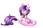 Size: 3694x2419 | Tagged: safe, artist:scarlet-spectrum, oc, oc only, dracony, hybrid, pony, blanket, cute, female, long tail, mare, ocbetes, simple background, solo, teddy bear, transparent background