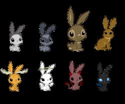 Size: 3000x2500 | Tagged: safe, artist:dragonchaser123, oc, oc only, changeling, demon, hare, jackalope, rabbit, angel, animal, simple background, transparent background