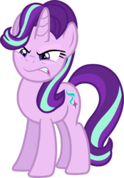 Size: 1334x1913   Tagged: safe, artist:davidsfire, starlight glimmer, pony, unicorn, all bottled up, angry, female, mare, simple background, snarling, solo, transparent background, vector