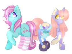 Size: 1400x1050 | Tagged: amputee, artist:skele-pone, clothes, congenital amputee, minty, oc, oc:hello-essence, pony, safe, simple background, socks, striped socks, transparent background, wheelchair