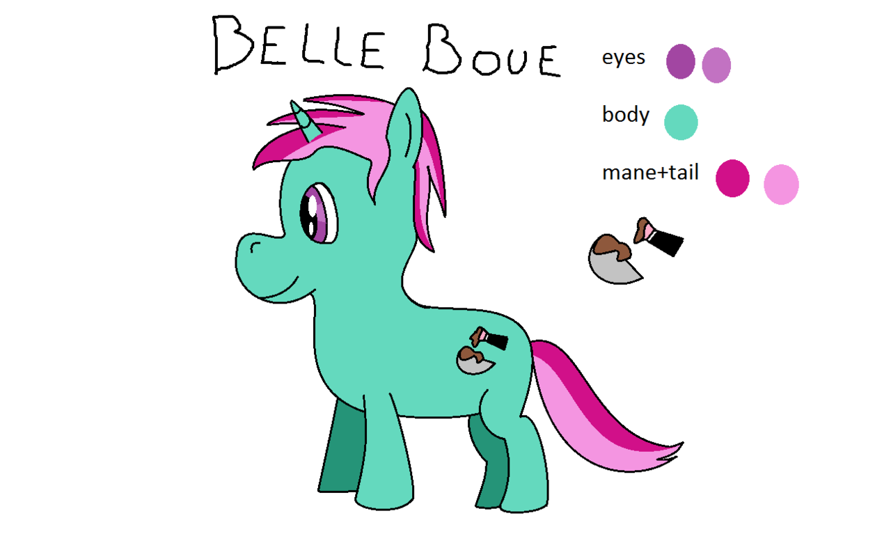 1432539 Artist Amateur Draw Male Ms Paint Oc Oc Belle Boue Oc