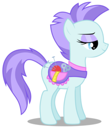 Size: 2629x3000 | Tagged: safe, artist:brony-works, roxie, roxie rave, earth pony, pony, background pony, female, high res, mare, pincushion, saddle, simple background, solo, tack, transparent background, vector