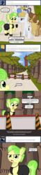 Size: 640x2700   Tagged: safe, artist:ficficponyfic, chickadee, ms. peachbottom, oc, pony, cyoa:peachbottom's quest, cyoa, tumblr