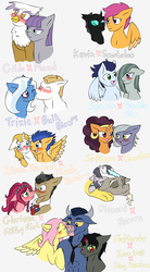 Size: 2700x4900 | Tagged: absurd res, artist:jolliapplegirl, bisexual, bluesentry, bulk biceps, changeling, crack shipping, deer, discord, draconequus, earth pony, female, filthydaisy, filthy rich, flash sentry, fluttershy, gay, gilda, gilmaud, gloriosa daisy, griffon, interspecies, ironshy, iron will, keviloo, kevin (changeling), king sombra, lesbian, limestone pie, male, marblein, marble pie, maud pie, minotaur, pegasus, polygamy, pony, prince blueblood, safe, saffron masala, saffstone, scootaloo, shipping, soarin', sombrashy, sombrawill, straight, trixbulk, trixie, unicorn, zebra, zecora, zecord