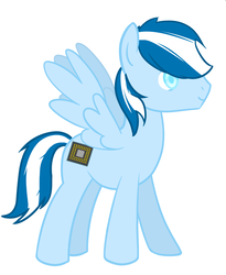 Size: 900x1100 | Tagged: safe, artist:blissprism, derpibooru exclusive, oc, oc only, oc:silicon chip, pegasus, pony, male, solo