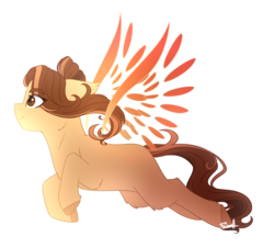 Size: 1826x1654 | Tagged: safe, artist:cloud-drawings, oc, oc only, oc:sina, earth pony, pony, artificial wings, augmented, female, magic, magic wings, mare, simple background, solo, transparent background, wings
