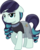 Size: 4354x5467 | Tagged: safe, artist:jhayarr23, coloratura, earth pony, pony, absurd resolution, bedroom eyes, clothes, female, floppy ears, looking at you, mare, see-through, simple background, smiling, solo, transparent background, vector