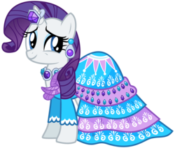 Size: 3541x3000 | Tagged: safe, artist:missy12113, rarity, pony, clothes, dress, female, simple background, solo, transparent background, vector