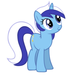 Size: 3000x3000 | Tagged: safe, artist:shelmo69, minuette, pony, unicorn, death stare, female, mare, simple background, solo, staring ponies, transparent background, vector