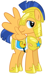Size: 3000x4859   Tagged: safe, artist:missy12113, flash sentry, pegasus, pony, three's a crowd, absurd resolution, armor, helmet, male, simple background, solo, stallion, transparent background, vector, vector trace