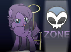 Size: 6000x4364 | Tagged: absurd res, artist:justisanimation, derpibooru exclusive, earth pony, flash, hoof licking, key, licking, logo, oc, oc only, oc:zone, ponified, pony, safe, solo, vector, zone, zone (website)
