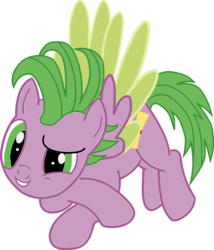 Size: 3030x3544   Tagged: safe, artist:bluemoonhd, spike, pony, ponified, ponified spike, simple background, solo, transparent background, vector