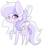 Size: 346x369 | Tagged: safe, artist:fuyonasoul, oc, oc only, oc:starstorm slumber, pegasus, pony, chibi, cute, one eye closed, simple background, solo, transparent background, wink
