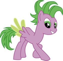 Size: 5136x4992   Tagged: safe, artist:bluemoonhd, spike, pony, absurd resolution, ponified, ponified spike, simple background, solo, transparent background, vector