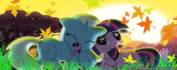 Size: 500x200 | Tagged: artist:limitbreaker13, artist:maximillianveers, female, lesbian, mare, pony, safe, shipping, trixie, twilight sparkle, twixie, unicorn