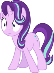 Size: 6400x8556   Tagged: safe, artist:parclytaxel, starlight glimmer, pony, unicorn, all bottled up, .svg available, absurd resolution, female, mare, simple background, solo, transparent background, vector, wide eyes