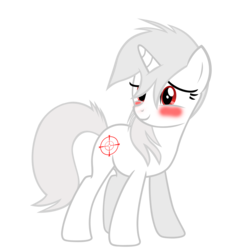Size: 5855x5844   Tagged: safe, artist:aborrozakale, oc, oc only, oc:appletart longshot, pony, unicorn, fallout equestria, fallout equestria: broken steel, absurd resolution, blushing, female, mare, red, simple background, solo, transparent background, vector, white