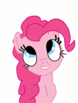 Size: 1080x1440 | Tagged: safe, artist:limehorse, pinkie pie, pony, colored, simple background, solo, white background
