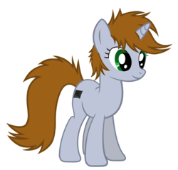 Size: 4191x4006   Tagged: safe, artist:aborrozakale, oc, oc only, oc:littlepip, pony, unicorn, fallout equestria, absurd resolution, female, mare, missing accessory, simple background, solo, transparent background, vector