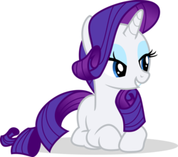 Size: 4050x3575 | Tagged: safe, artist:cencerberon, rarity, pony, unicorn, .svg available, absurd resolution, bedroom eyes, cute, eyeshadow, female, makeup, mare, prone, raribetes, show accurate, simple background, smiling, solo, transparent background, vector