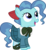 Size: 1001x1092 | Tagged: safe, artist:cloudyglow, petunia paleo, earth pony, pony, bow, clothes, clothes swap, cosplay, costume, crossover, cute, disney, female, filly, foal, hair bow, hnnng, olivia flaversham, open mouth, petuniabetes, smiling, solo, standing, the great mouse detective