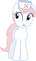 Size: 6400x10843 | Tagged: safe, artist:parclytaxel, nurse redheart, earth pony, pony, a flurry of emotions, .svg available, absurd resolution, female, mare, simple background, solo, transparent background, vector