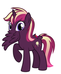 Size: 450x540 | Tagged: safe, artist:crowneprince, oc, oc only, pony, mouthbutt, not salmon, simple background, solo, transparent background, wat, wingmouth