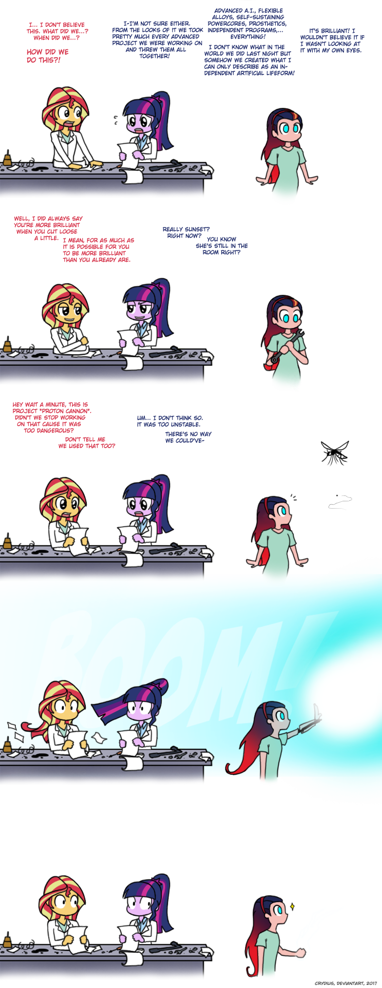 1490181 - android, artist:crydius, clothes, comic, equestria girls