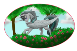 Size: 1024x685 | Tagged: safe, artist:oneiria-fylakas, oc, oc only, alicorn, pony, alicorn oc, male, solo, stallion, tree