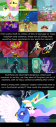 Size: 1200x2678 | Tagged: safe, artist:eagle1division, edit, edited screencap, screencap, amethyst star, apple bloom, berry punch, berryshine, big macintosh, bon bon, carrot top, cherry berry, cloud kicker, daisy, derpy hooves, discord, dizzy twister, doctor horse, doctor stable, flower wishes, fluttershy, golden harvest, lemon hearts, linky, lyra heartstrings, minuette, nurse sweetheart, orange swirl, philomena, princess celestia, princess luna, rainbow dash, sassaflash, scootaloo, sea swirl, seafoam, shoeshine, snails, snips, sparkler, spring melody, sprinkle medley, starlight glimmer, sunset shimmer, sunshower raindrops, sweetie belle, sweetie drops, trixie, trouble shoes, twilight sparkle, twinkleshine, parasprite, phoenix, ursa minor, a bird in the hoof, equestria girls, equestria girls (movie), friendship is magic, lesson zero, magic duel, read it and weep, swarm of the century, tanks for the memories, the cutie map, the hooffields and mccolts, the last roundup, the return of harmony, ash, big crown thingy, crying, floppy ears, forgiveness, hug, jewelry, laughing, lightning, regalia, s5 starlight, sad, sitting, staff, staff of sameness, sunset satan, text, weather factory
